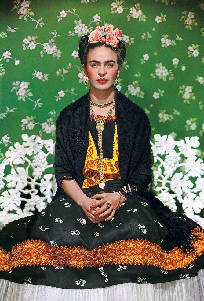 Nickolas Muray. Frida on White Bench, New York, 1939
