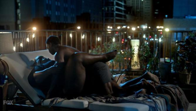 Gabourney Sidibe love scene   Empire S2