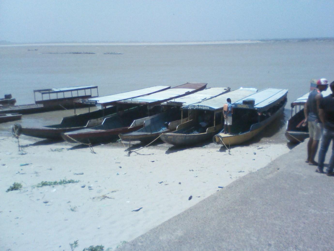 Los pescadores de la región han sido victimas de robo de motores  y desvalijamiento de las lanchas.