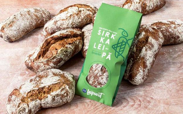 Sale al mercado del consumidor el primer pan con insectos