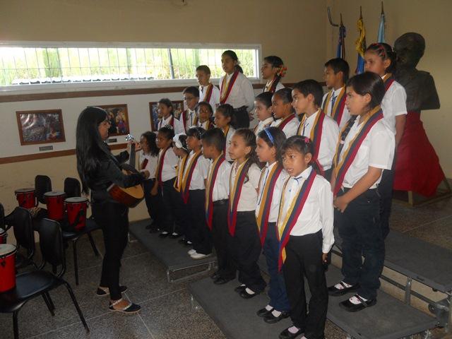 El Coro Infantil del Núcleo San Juan de los Morros tuvo una participación especial