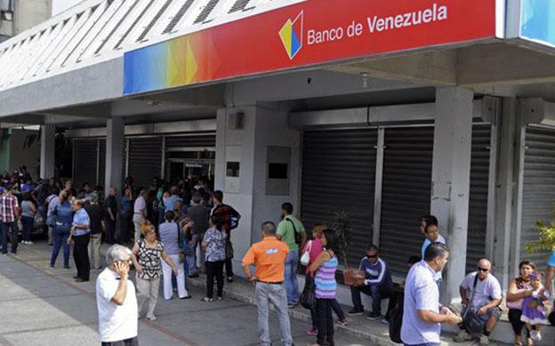 Suspende todos sus servicios Banco de Venezuela