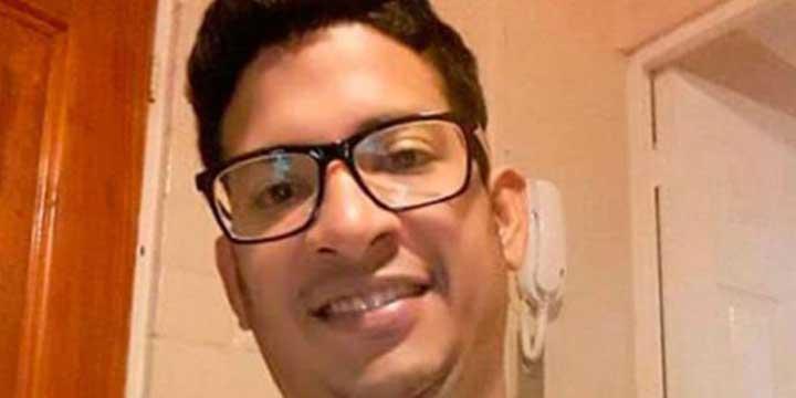 Belmar Peña trabajaba para buscar a sus familiares en Venezuela