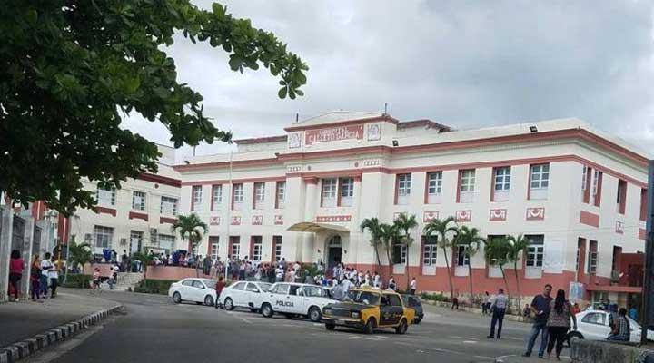 Los heridos fueron atendidos en uno d los hospitales de la Habana.
