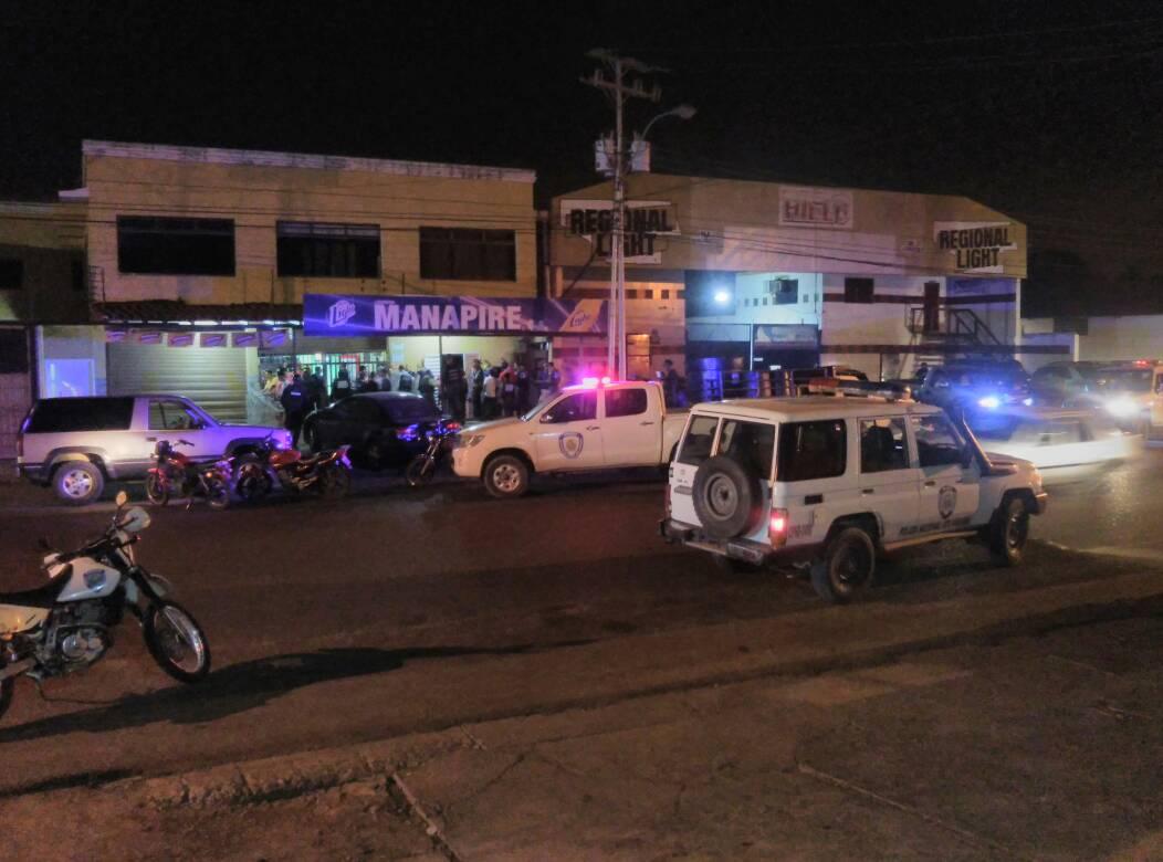 Se desplegaron funcionarios policiales en todo el municipio Infante.