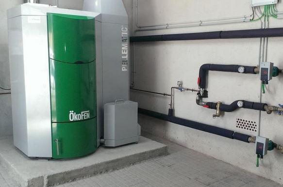 biomasa para comunidad de vecinos