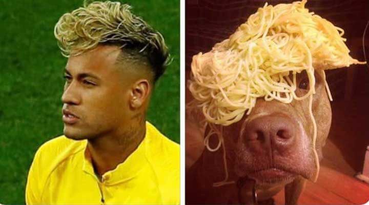 Memes neymar spaguetti.