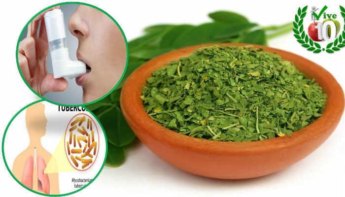 Las hojas molidas se pueden encapsular y tomarse como complemento alimenticio