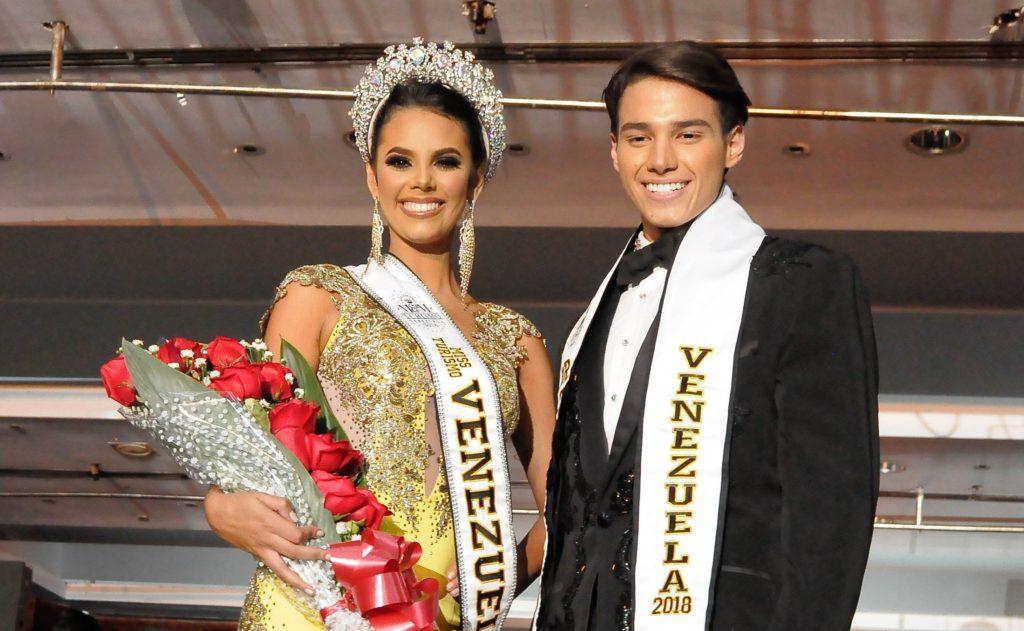 Representantes del estado Miranda, Alexandra Sanabria y Juan Carlos Da Silva son los nuevos Miss y Mister Turismo Venezuela