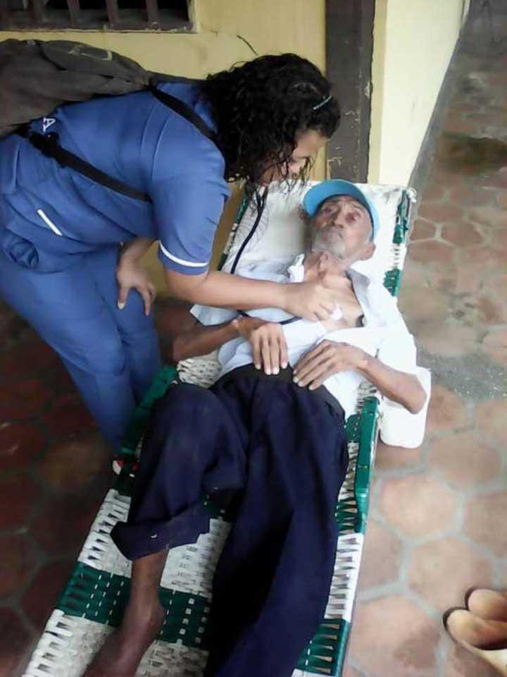 Estas revisiones medicas se aplicaran todos los viernes a los abuelitos.