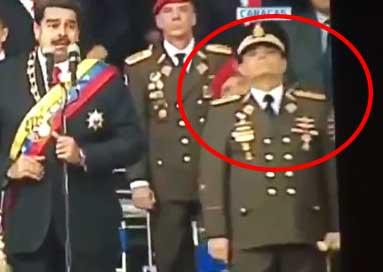 Atentado Nicolas Maduro militares asustados o heridos