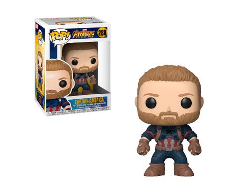 El Funko del Capitán América de Los Vengadores Infinity War