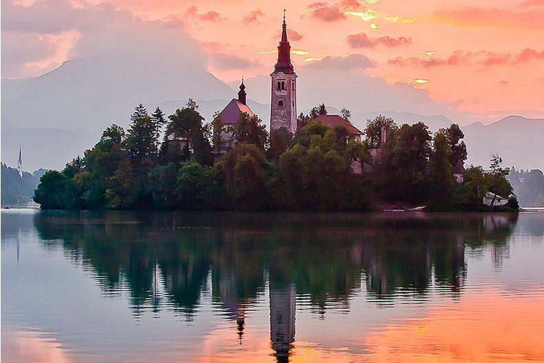 Un sueño de encanto, Bled