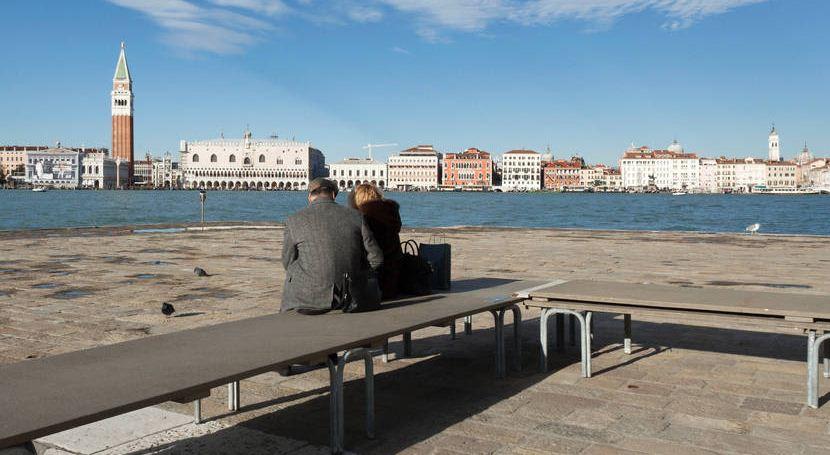 La isla de la Guidecca ve a Venecia