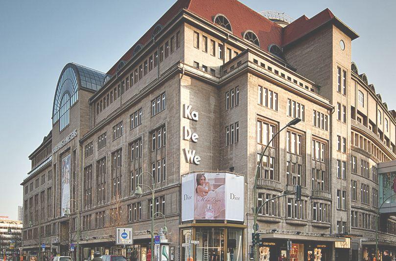 KaDeWe, Centro de tiendas.
