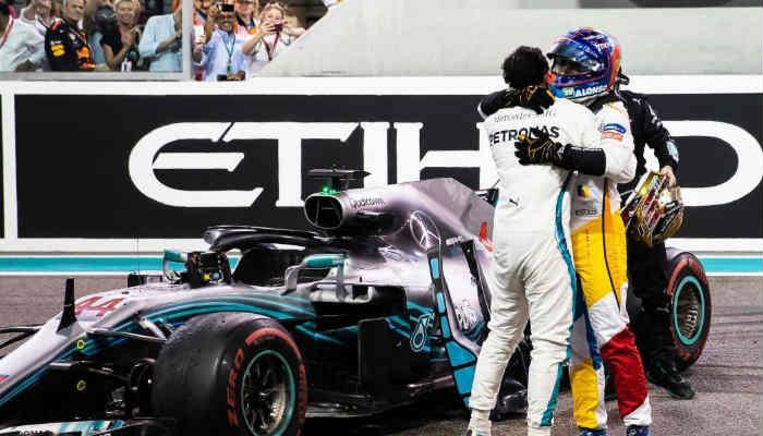 Les tocó despedirse de piloto español Fernando Alonso