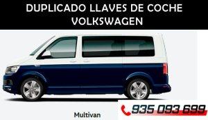 Duplicado llave Volkswagen