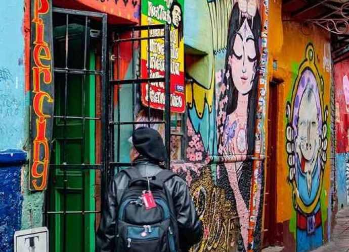 Bogotá rica en contrastes y disfrutes