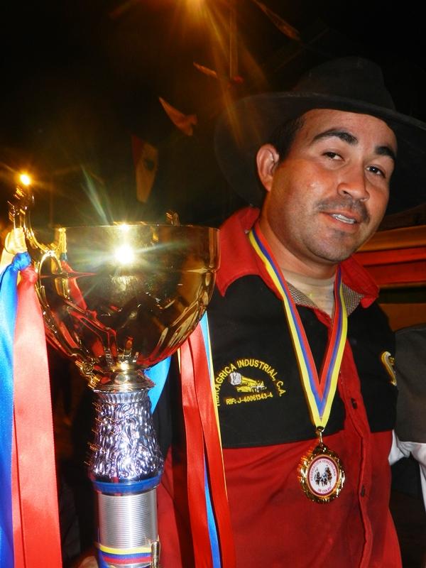 Carlos Rodríguez de Portuguesa, campeón individual de Copa Feveco 2019 en Valle de la Pascua