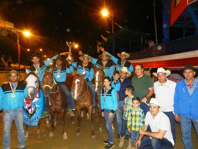 Guárico, subcampeón por equipos en Copa Feveco 2019
