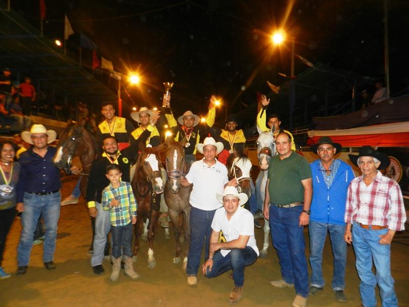 Táchira, tercer lugar por equipos en Copa Feveco 2019