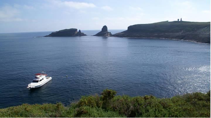 Islas Columbretes con un gran valor turistico por sus aguas cristalinas