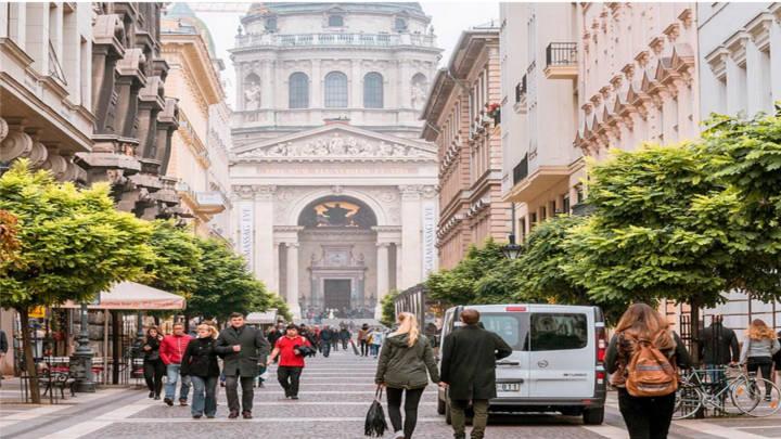 Lugares trendy en la ciudad de Budapest