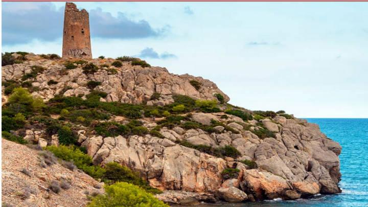 Sierra de Irta, desde contemplas el mediterráneo y su imponencia.