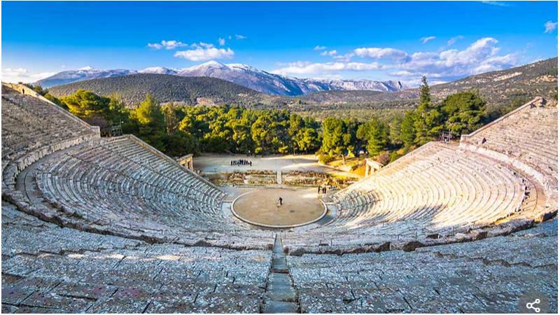 Epidauro, en el pasado, sitio ideal para la terapia y la medicina