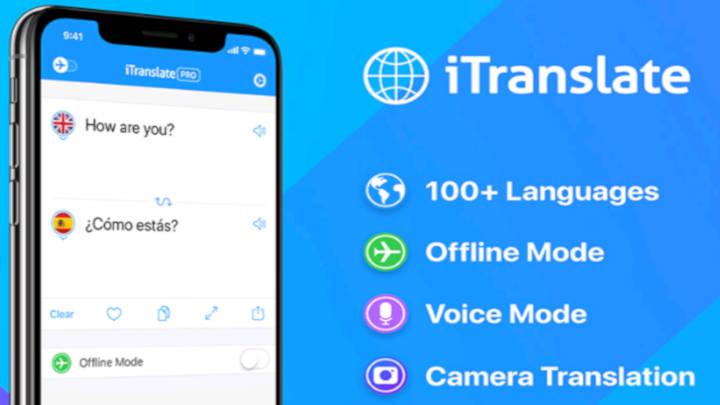 El traductor móvil. Moderna aplicación que te aligera la comunicación en tierras extrañas.
