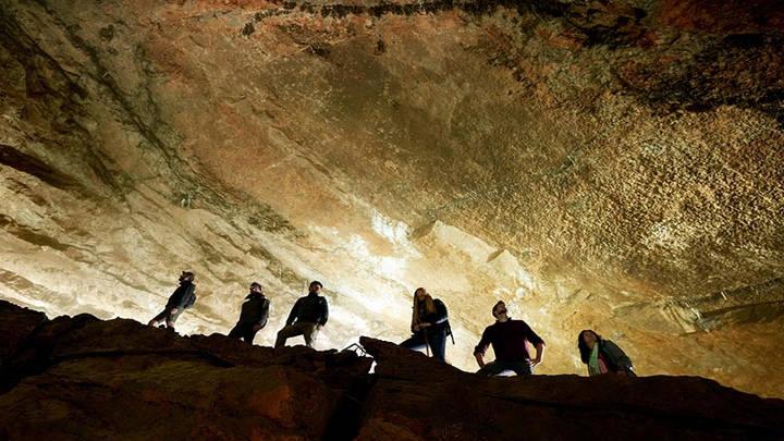 Hermosa travesía, mágicos pasajes subterraneos.