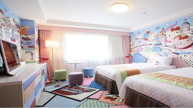 Keio Plaza Hotel Tama. El lugar donde Hello Kitty es protagonista.
