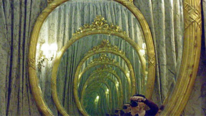 El famoso salón conocido como Tocador de Señoras en el Real casino.