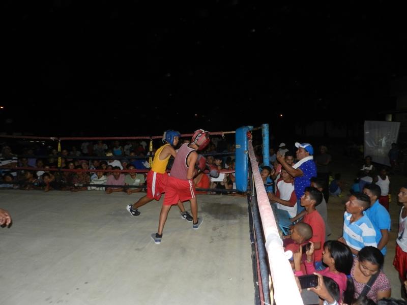 Boxeo menor Infante, Chaguaramas, El Socorro 4 de mayo 2019