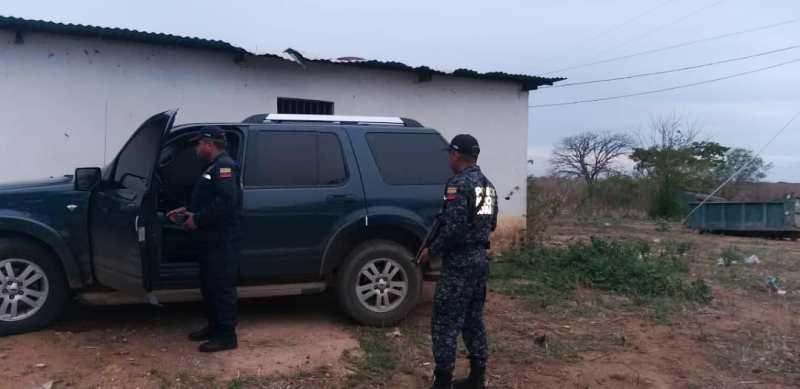 La unidad fue recuperada en tiempo récord por funcionarios de la PNB.