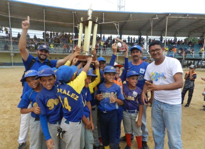 Infante es el campeón estadal de béisbol preinfantil