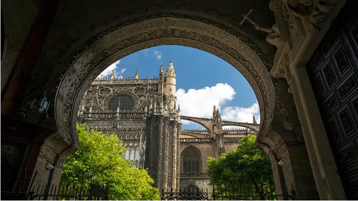 La Puerta del Perdón, antigua entrada del monumento