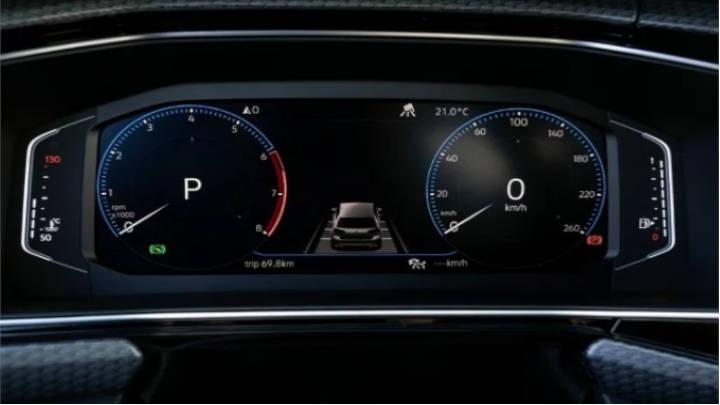 Digital Cockpit ofrece diferentes vistas de sus controles.