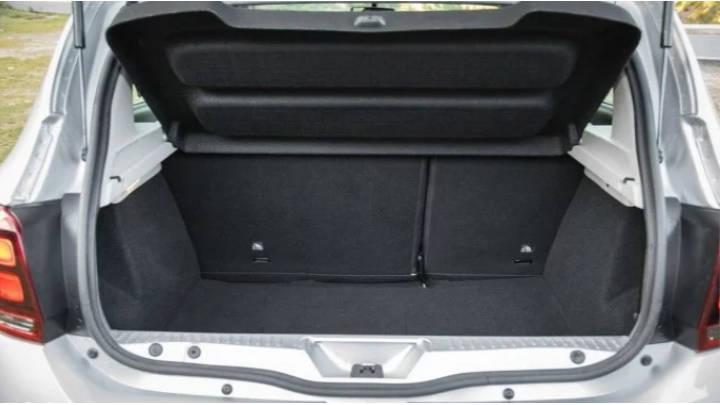 Excelente capacidad de carga para ser un coche del segmento B