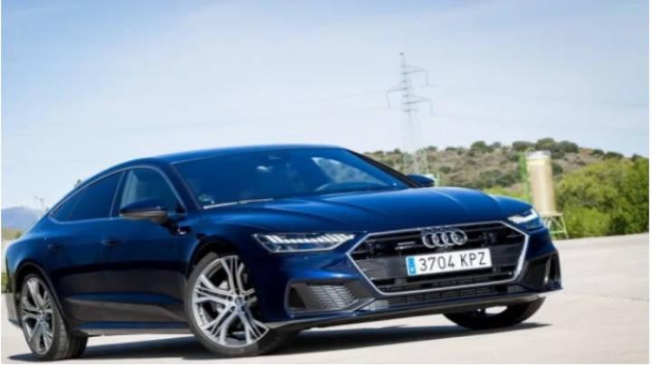 A7  de estilo más estilizado con su linea coupé