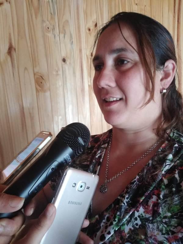 María Grigioni; manifestó que está actividad forma parte del compromiso social de la Iglesia con la comunidad