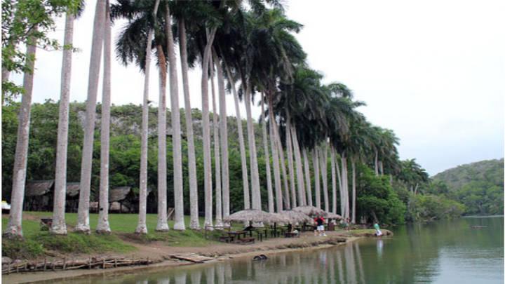 El río Canimar y la Arboleda en Cuba