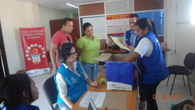 105 personas aspiran ser elegidos como Cogestores Sociales, en Malambo