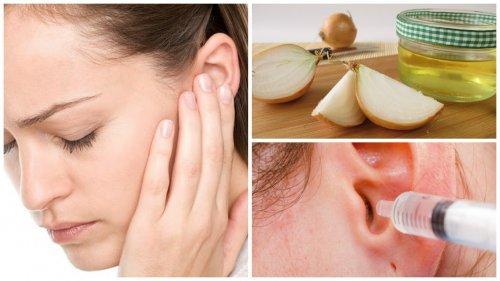 8 soluciones naturales para aliviar la otitis o inflamación de los oídos