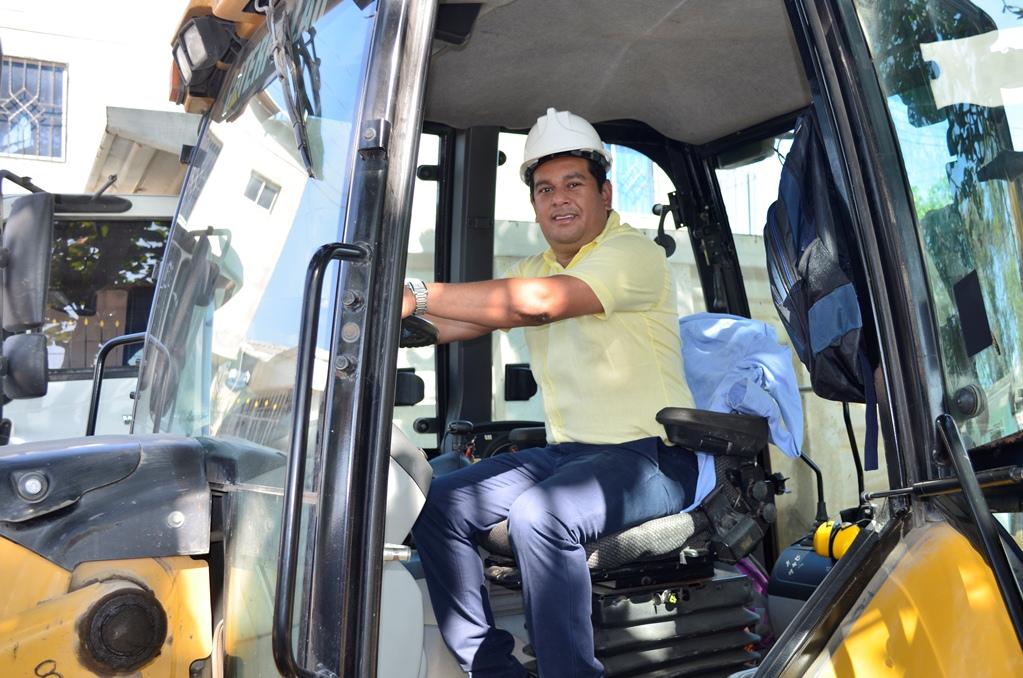 Alcalde dio inicio a obras de 2.7 kilómetros de vías urbanas en Malambo