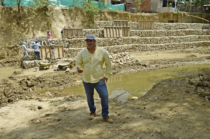 Gobernación invierte $656 millones en obras de mitigación en Luruaco