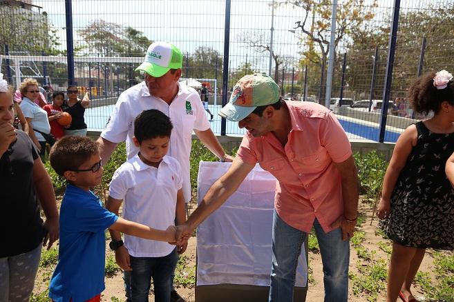 Los parques están rescatando la tradición barranquillera: alcalde Char