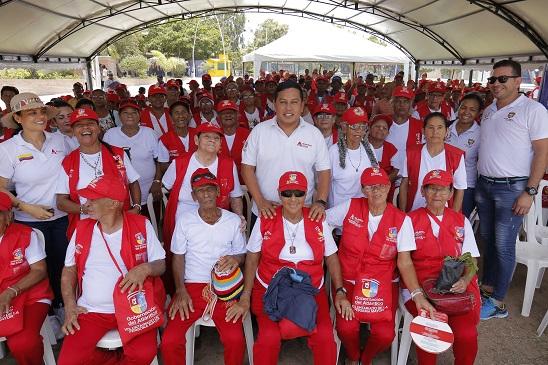 Galapa, sede de encuentro de adultos mayores del área metropolitana