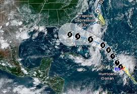 Pronostican que Dorian tocaría tierra en Florida como un monstruoso huracán categoría 4