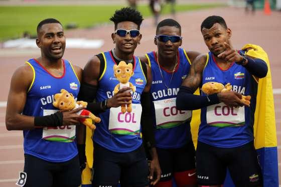 Jornada dorada para Colombia en Lima